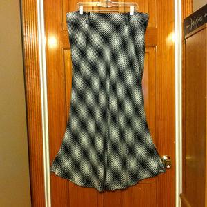 Cato Plaid Maxi skirt